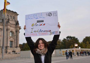Colombianos en Alemania piden que se avance con la implementación del Acuerdo de Paz