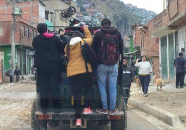 Más de 300 barrios de Ciudad Bolívar tienen problemas de movilidad