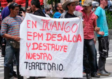 EPM debe frenar el sufrimiento que ha causado: Comunidades