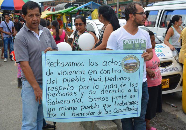 Pueblo AWÁ denuncia el exterminio de toda una familia