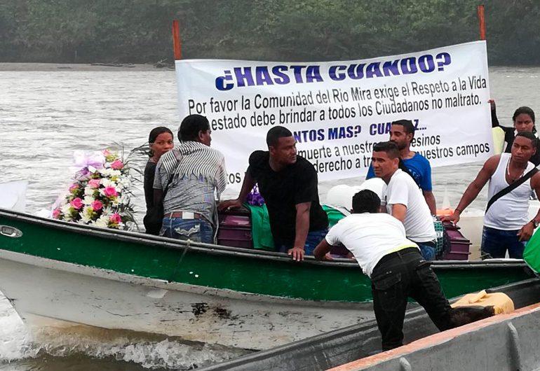 Aplazan audiencia de imputación de cargos contra oficiales responsables de la masacre de Tumaco