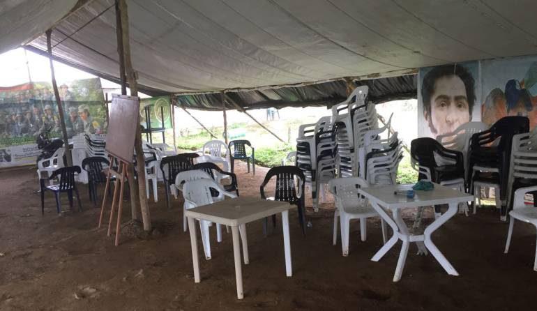 Integrantes de FARC se van porque ni el 5% de la ETCR de Policarpa, Nariño se ha construido
