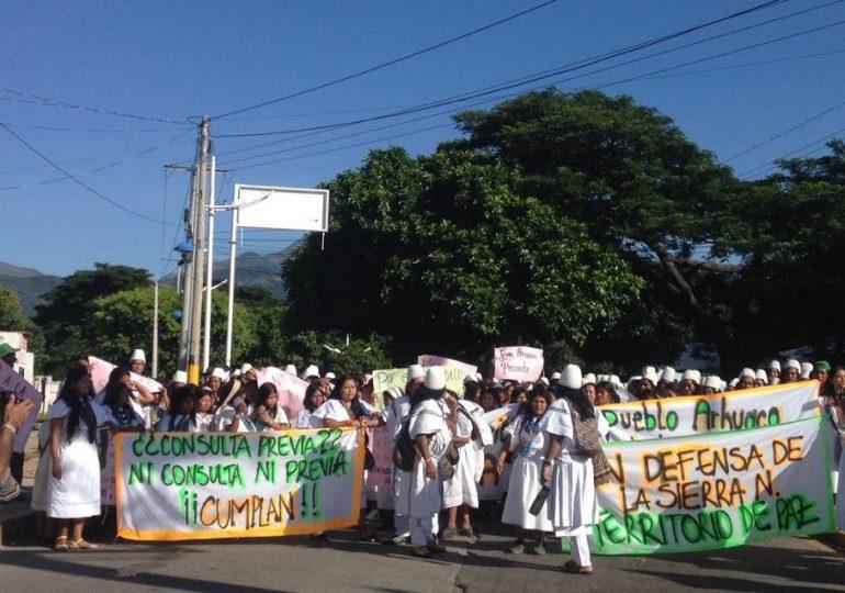 Minga Indígena reporta 41 indígenas heridos por ESMAD y Fuerza Pública