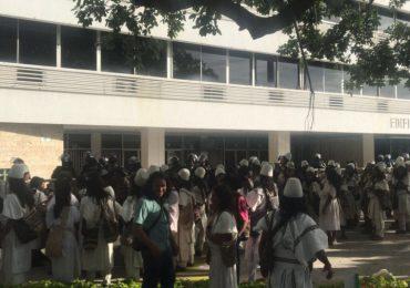 ESMAD arremete contra indígenas del Pueblo Arhuaco en Valledupar