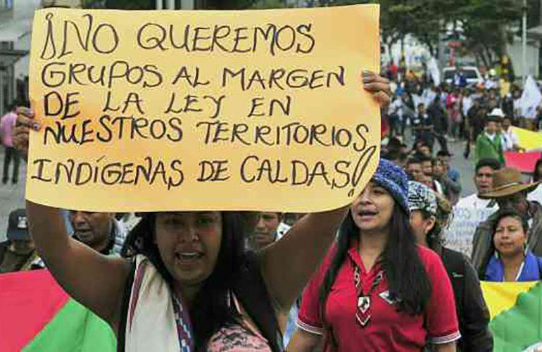 """ESMAD está """"atrincherado"""" en viviendas de Guascal en Caldas"""