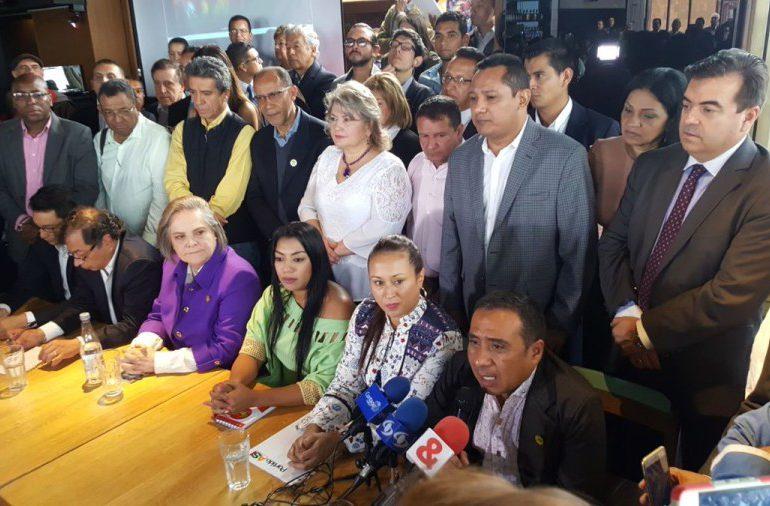 Primera coalición de la izquierda lanza Lista Unitaria de la Decencia