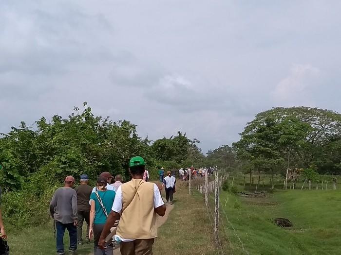 Comunidades del Guayabo en Santander recuperan sus tierras tras el desalojo