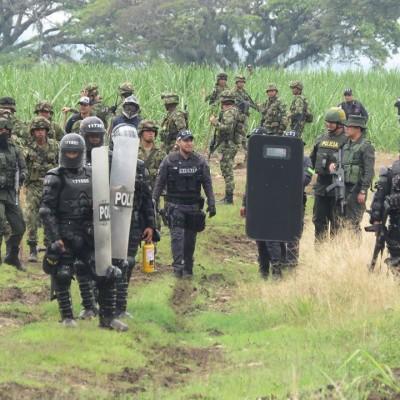 Detienen comuneros que se enfrentaron al ejército en Cauca