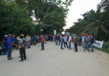 Trabajadores de Indupalma denuncian posible desalojo por parte de Fuerza Pública