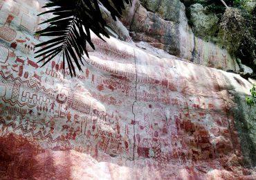 Pinturas rupestres de Guaviare en riesgo por incendios forestales