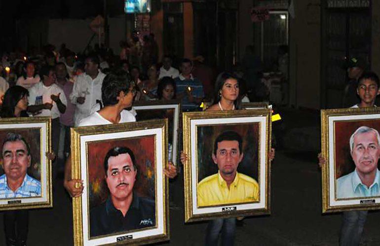 Víctimas de la masacre de Rivera en Huila persiguen la esperanza de la verdad