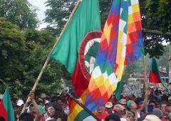 En Bogotá realizarán plantón en solidaridad con la Minga