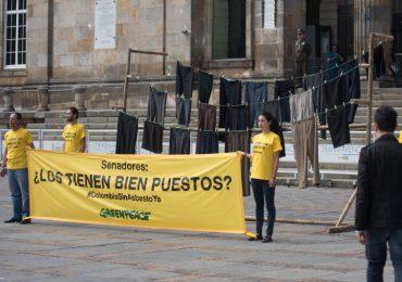"""""""Está en manos de los congresistas que se prohíba el asbesto en Colombia"""": Green Peace"""