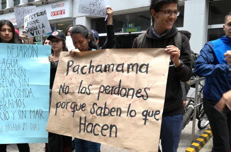 Animales, los más afectados con el derrame de petróleo en Barrancabermeja