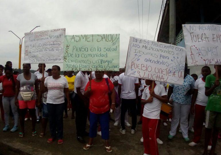 Habitantes de Iscuande, Nariño, en paro porque sus niños no tienen educación