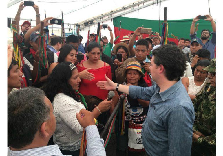 Familia Quilcué admite perdón de Min Defensa por asesinato de Edwin Legarda