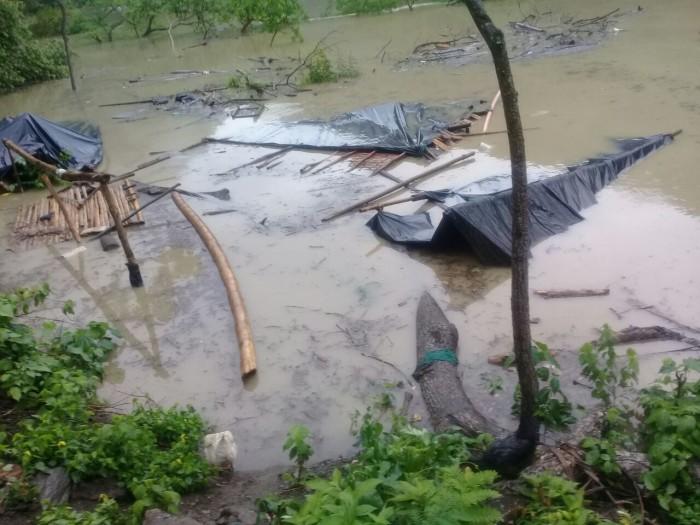 15 familias afectadas dejó la inundación producto del taponamiento de un túnel para Hidroituango