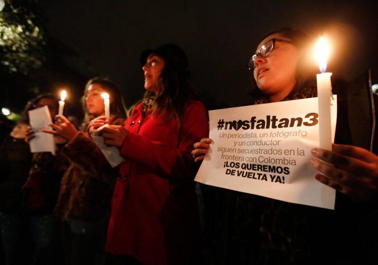 """Organizaciones señalan como """"Inadmisible"""" manejo de información sobre secuestro de periodistas ecuatorianos"""