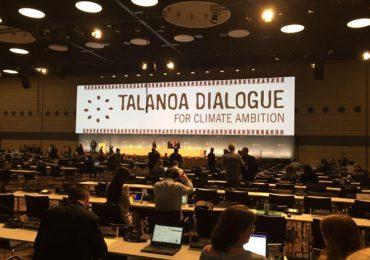 Diálogo de Talanoa, una oportunidad para exigir acciones efectivas frente al cambio climático