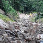 El río Cauca se ha secado producto del represamiento del agua