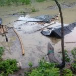 15 familias perdieron sus enceres por la inundación causada
