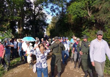 Habitantes denuncian intimidaciones por parte de Fuerza Pública en Jericó, Antioquia