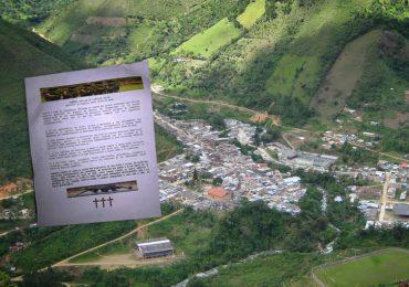 Con panfletos difunden amenazas de 'limpieza social' en Cauca