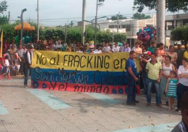 USO denuncia atentado contra líder que se opone al Fracking en Cesar
