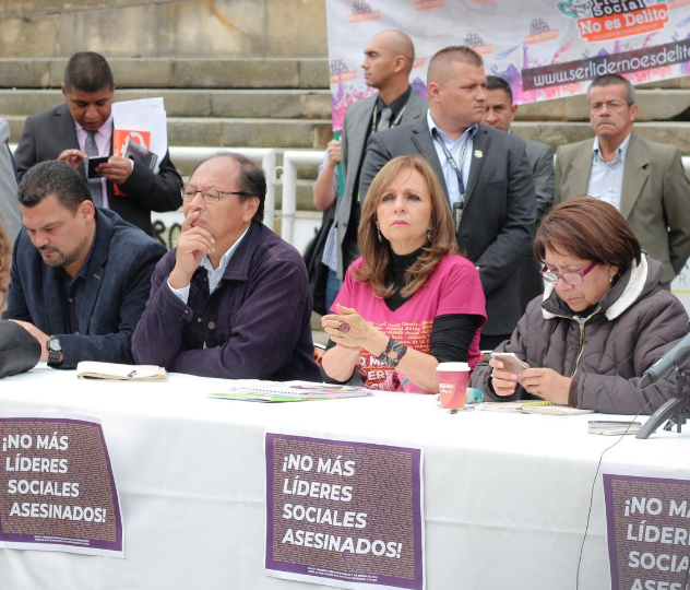 Los asesinatos de líderes sociales son sistemáticos: Ángela María Robledo