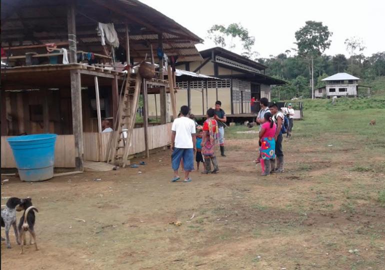 Ejército nunca llegó a comunidad indígena confinada por paramilitares