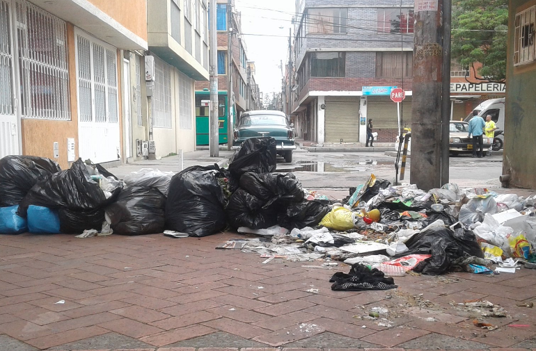 Habitantes de Suba marcharán por deficiencias en recolección de basuras