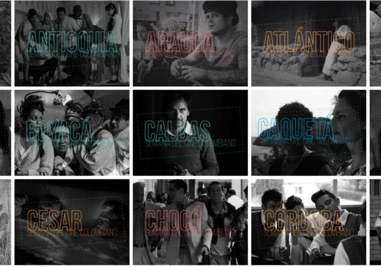 Más de 60 películas componen la Semana del Cine Colombiano