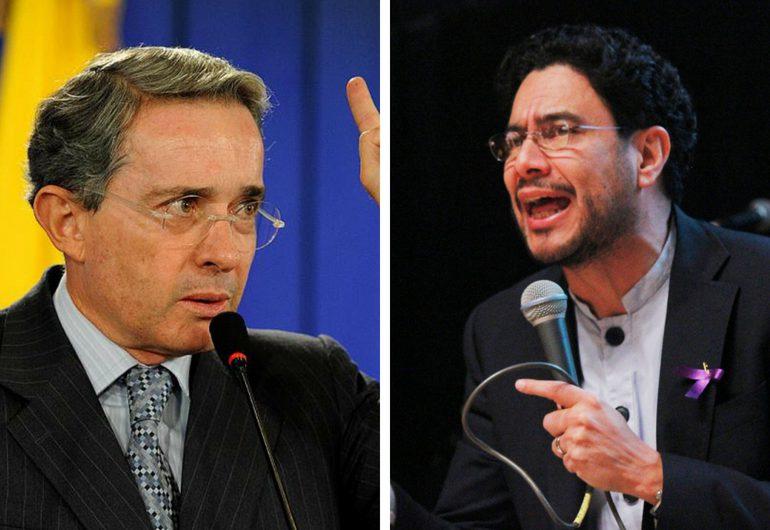 """""""Uribe esta haciendo una tenebrosa campaña contra la Corte Suprema"""" Iván Cepeda"""