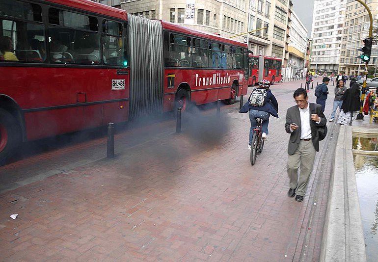 """""""La temporada de mala calidad de aire en Bogotá hasta ahora comienza"""""""
