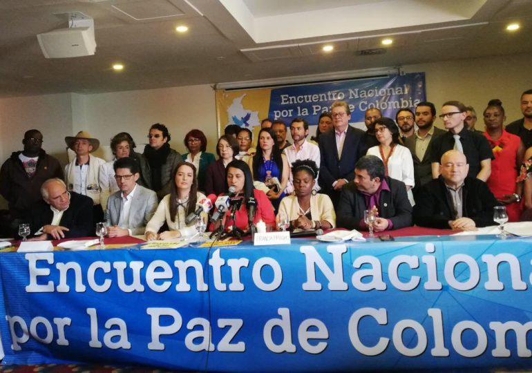 """""""Duque puede contar con nosotros para construir paz"""" Encuentro por la paz de Colombia"""