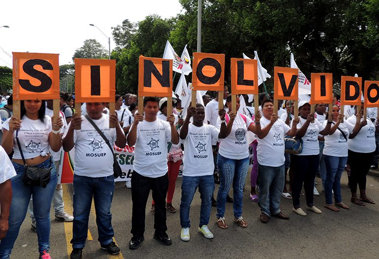 Luto en Valle del Cauca por asesinato de Florelia Canas y Héctor Montoya