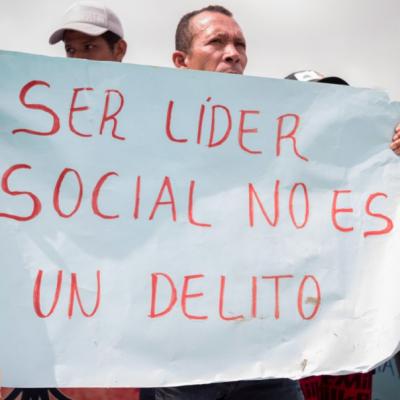Nuevas capturas contra líderes sociales en el oriente del país