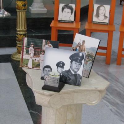 Restos óseos de escolta de Reyes Echandía son entregados a su familia