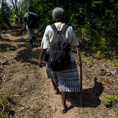 80 familias de El Charco, Nariño, son víctimas de doble desplazamiento