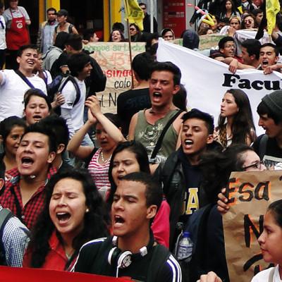 Estamos 'ad portas' de un gran paro estudiantil en Colombia