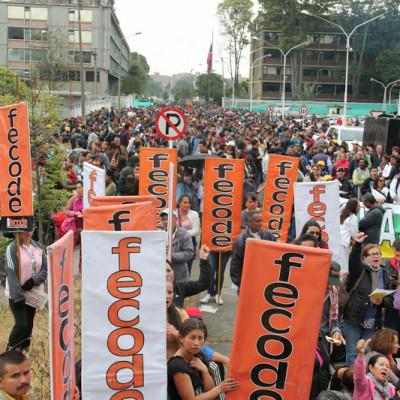 FECODE marcha este jueves en defensa de la educación pública
