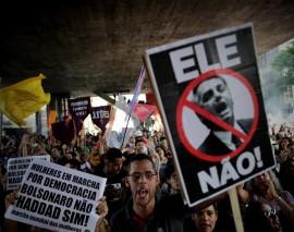 3 riesgos y 3 oportunidades de victoria de Bolsonaro para el movimiento social