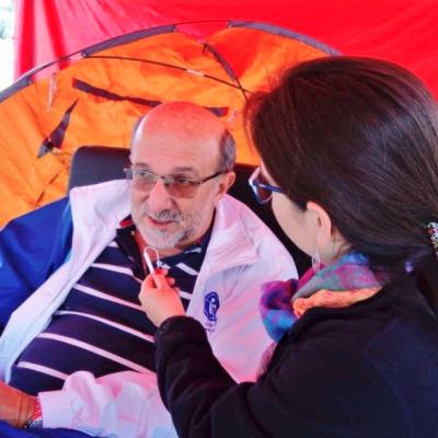 Profesores de universidades públicas protestan con huelga de hambre