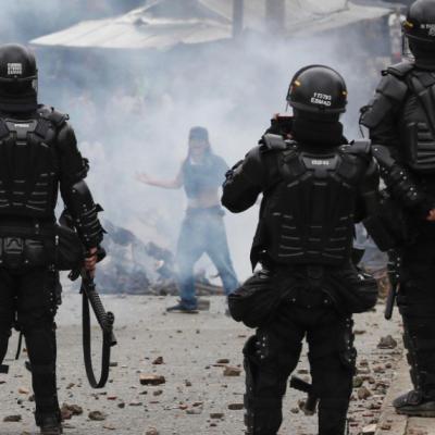 Estudiantes de la U. de Antioquia denuncian agresiones por parte del ESMAD