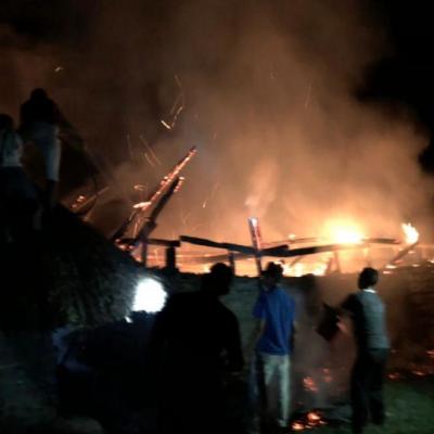 ONIC denuncia la quema de una casa ceremonial del pueblo Kankuamo