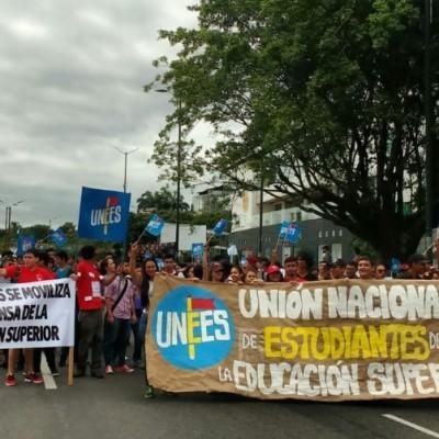 Las marchas estudiantiles seguirán hasta que haya mesa de concertación con el Gobierno