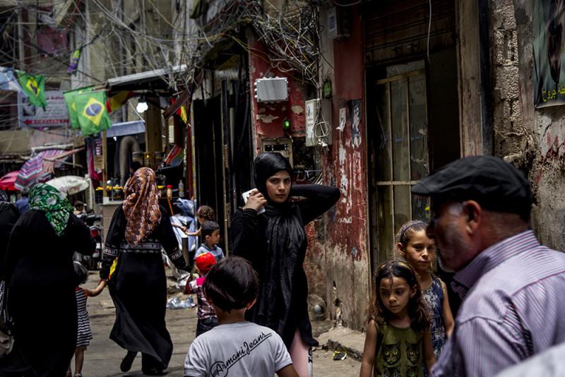 mujer palestina