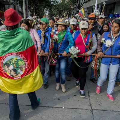 Organizaciones indígenas y afro radican tutela contra reforma a Ley de Tierras