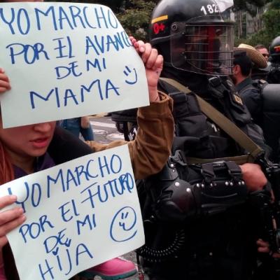 UNEES denuncia persecución y amenazas desde Fuerza Pública a estudiantes