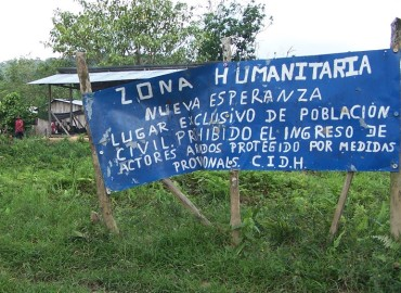Comunidad de Jiguamiandó denuncia ataque militar aéreo